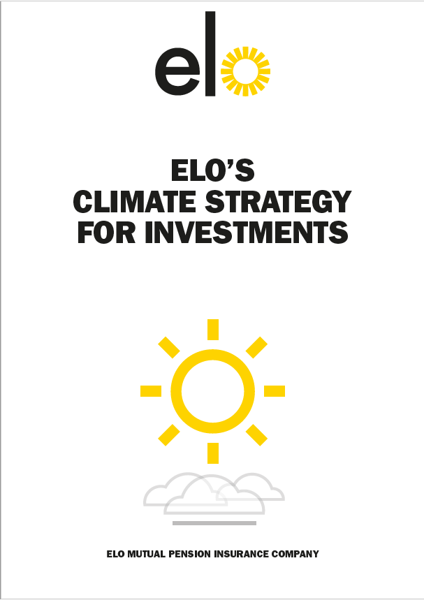 Elo´s climate strategy for investors