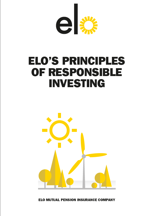 Elo´s principles of responsible investing